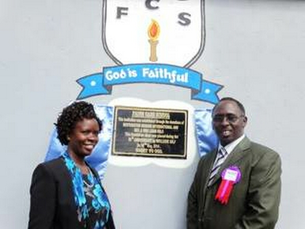 Bishop Steve and Ann Njihia